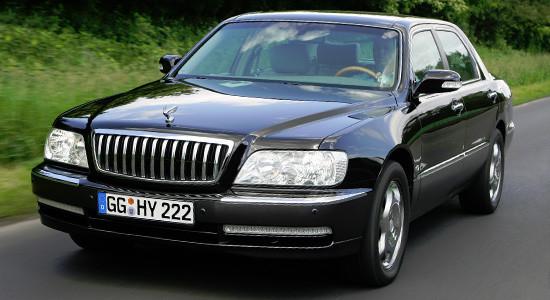 Hyundai Equus 1 (1999-2008) на IronHorse.ru ©