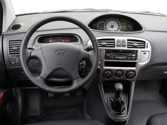 передняя панель и центральная консоль Hyundai Matrix