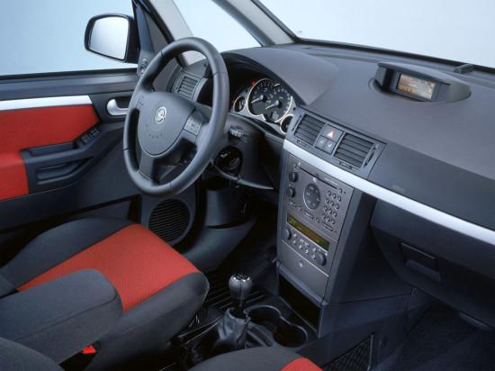интерьер салона Opel Meriva A