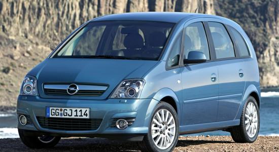 Opel Meriva A (2003-2010) на IronHorse.ru ©