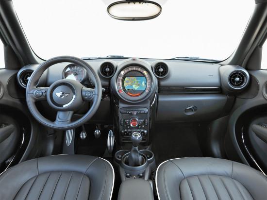 Передняя панель и центральная консоль MINI Countryman (R60)