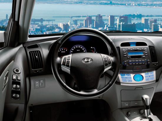 интерьер Hyundai Elantra HD (2006-2010)