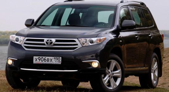 Toyota Highlander 2 (2007-2014) на IronHorse.ru ©