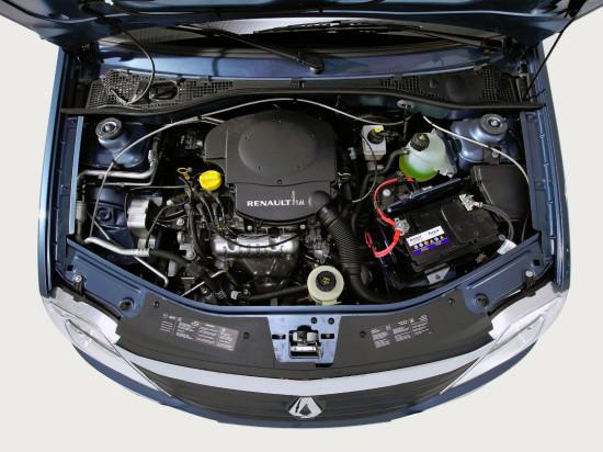 под капотом Renault Logan I