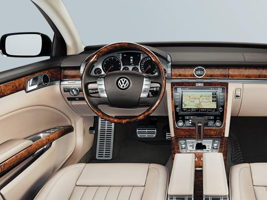 интерьер VW Phaeton