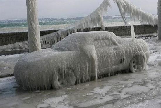 Ice On Car on 2002 Dodge Dakota Water Pump