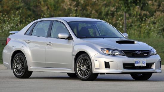 седан Subaru Impreza 3 WRX 2010-2014