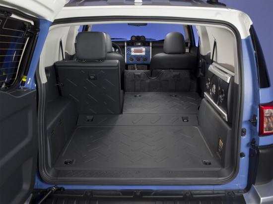 багажное отделение Toyota FJ Cruiser