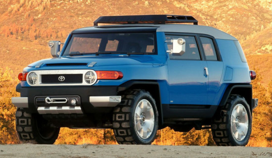 концепт Toyota FJ Cruiser