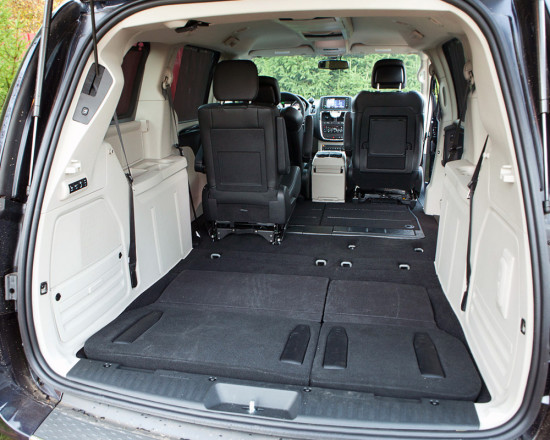 багажное отделение Chrysler Grand Voyager V