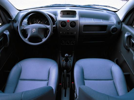 интерьер салона Citroen Berlingo 1 Van