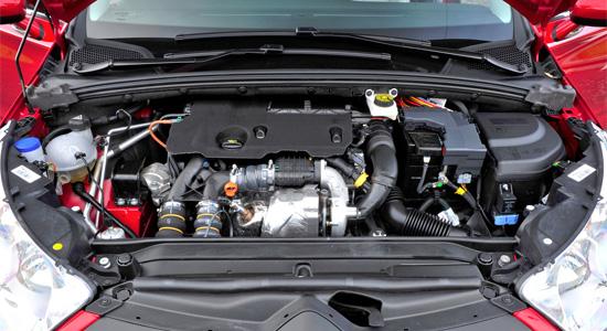 под капотом второго Citroen C4