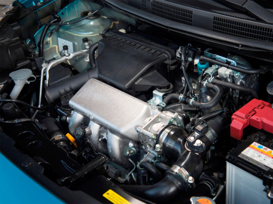 силовой агрегат Nissan New Micra K13