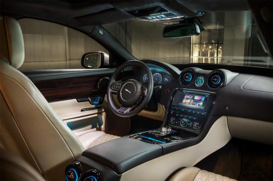 интерьер Jaguar XJ X351 2016
