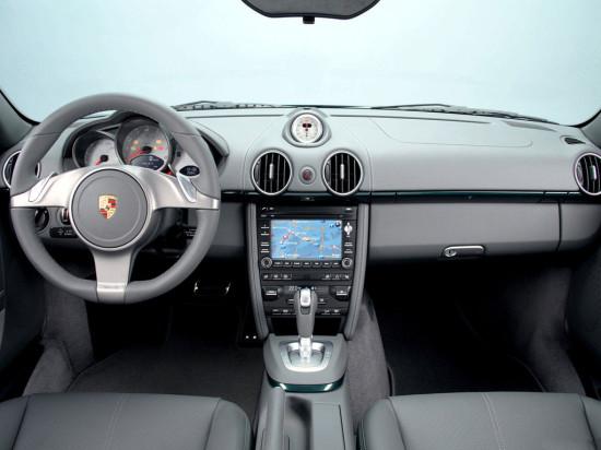 интерьер салона Porsche Cayman 1 (2005-2012)