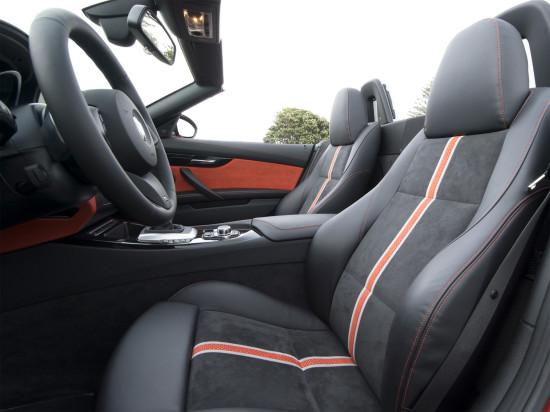 в салоне BMW Z4 E89