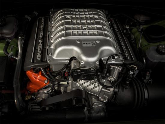 двигатель Challenger SRT HellCat 2016