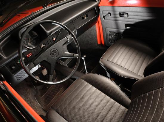 интерьер VW Typ 1 1972