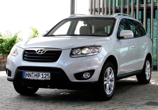 Hyundai Santa Fe 2 (CM) 2010