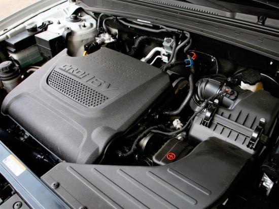 под капотом Hyundai Santa Fe 2