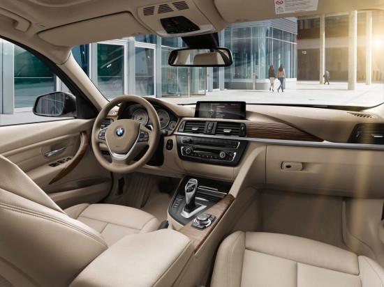 интерьер салона BMW 3-series F30