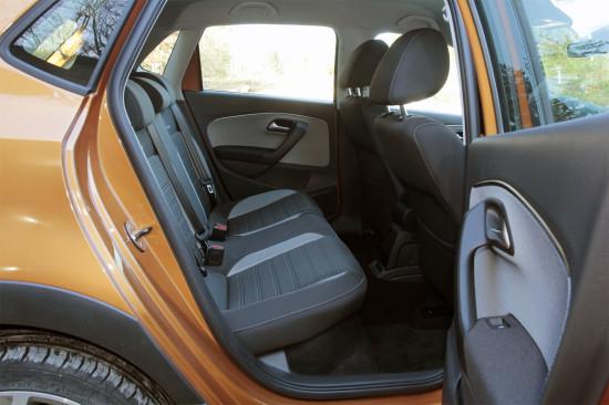 задний диван Volkswagen CrossPolo 2