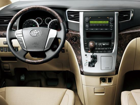 интерьер Toyota Alphard 2