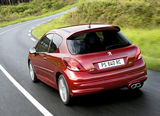 фото Peugeot 207 RC