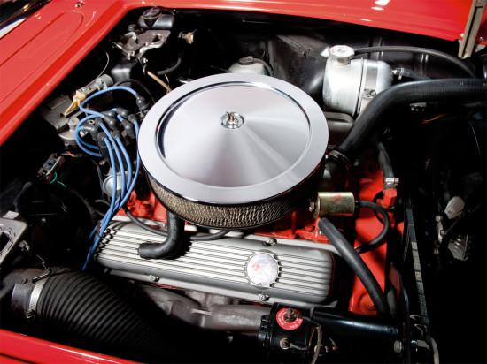 силовой агрегат Corvette C1