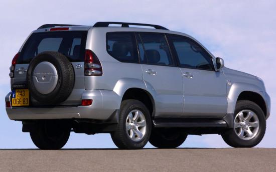 Toyota Land Cruiser 120 Prado (с запаской на багажной двери)