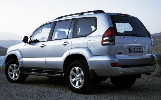 Toyota Land Cruiser 120 Prado (с запаской под днищем)