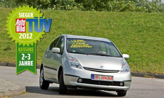 TUV Report 2012 года от AUTO BILD