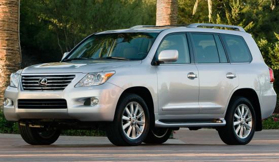2007-2011 LX570