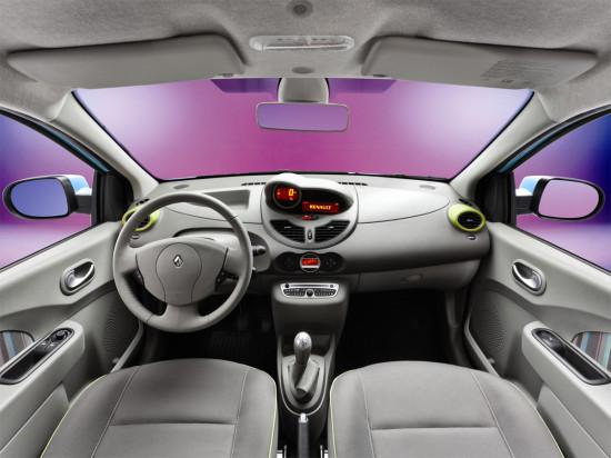 интерьер салона Renault Twingo 2