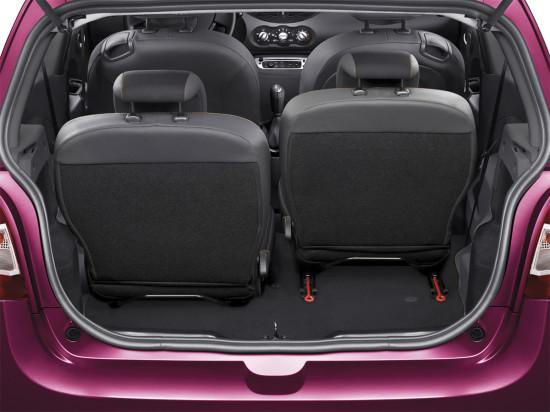 багажное отделение Renault Twingo 2