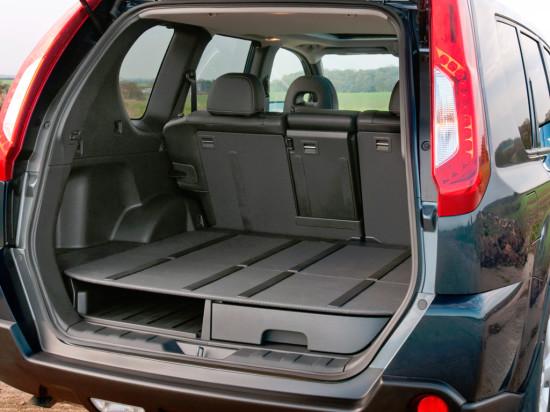 багажное отделение Nissan X-Trail T31