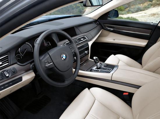 интерьер салона BMW 7-Series ActiveHybrid