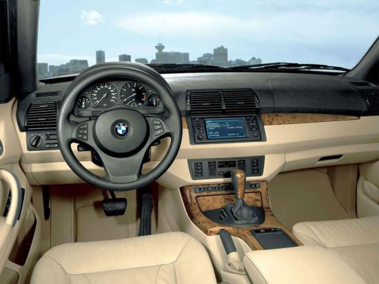 интерьер салона BMW X5 E53