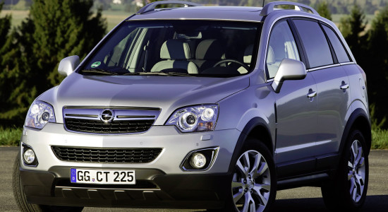 Opel Antara (2011-2015) на IronHorse.ru ©