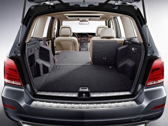 багажное отделение Mercedes GLK-класса