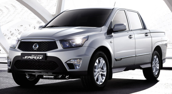SsangYong New Actyon Sports (2017-2018) на IronHorse.ru ©