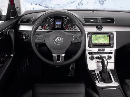 интерьер салона Volkswagen Passat B7 Alltrack