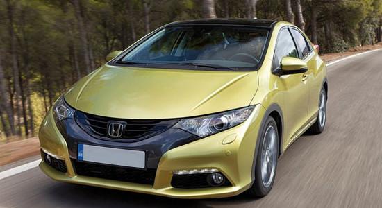 Honda Civic 5D (2012-2015) на IronHorse.ru ©