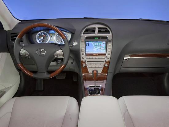 интерьер Lexus ES (2006-2012)