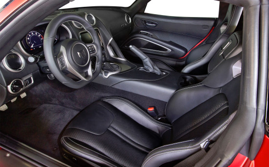 интерьер Dodge Viper SRT Phase I VX