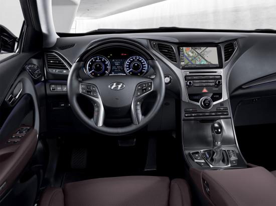 интерьер салона Hyundai Grandeur 5 (HG)