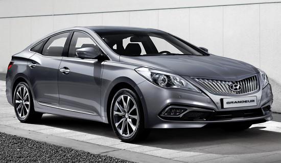 Hyundai Grandeur 5 2014 модельного года