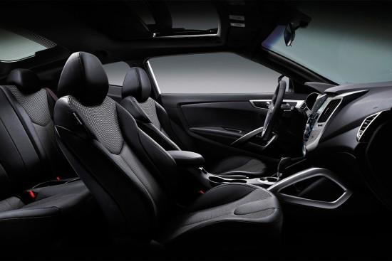 интерьер салона Hyundai Veloster