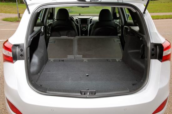 багажное отделение Hyundai i30 Wagon 2015