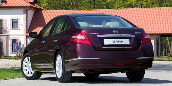 фото New Nissan Teana J32